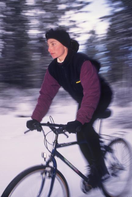 mtn bike winter flash